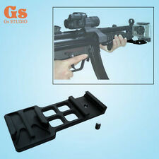 GoPro Hero2 Hero3 Camera Picatinny Gun Rail Mount -M4-SPR-MK18MOD-Airsoft-GBB
