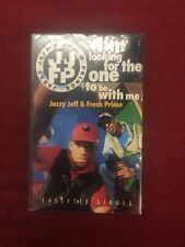 "JAZZY JEFF & THE FRESH PRINCE ""I'M LOOKING FOR THE ONE"" CASSETTE SINGLE SEALED"