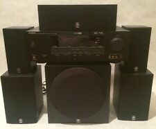 Yamaha Amplifier - HTR-6030 & NS-AP2800BLF Surround Sound Speakers