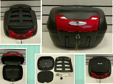 Universal Quick Release TopBox with Luggage Rack -Motorcycle-Bike-Trike 40L-0879
