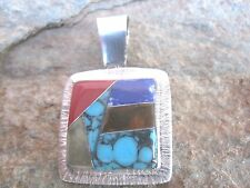 Slider Pendant Handcrafted Stone Mosaic Inlay by by Artesanas Campesinas  mp09