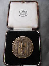 British Empire Games London 1934. Bronze Medal Boxing Referee. Original Case.