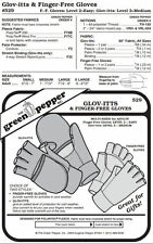 Glov-itts & Finger-free Gloves #529 Gloves Mittens Sewing (Pattern Only) gp529