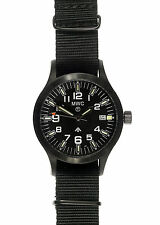 MWC MKIII Covert PVD Military Watch with Tritium GTLS - 100m water resistant