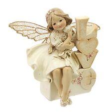 Sentimental Juliana Collection  Fairy Figurine LOVE  Fairies Ornament