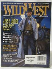 WILD WEST MAGAZINE JUNE 2005 JESSE JAMES