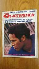 Pro Quarterback OJ Simpson November 1971 Magazine J45791