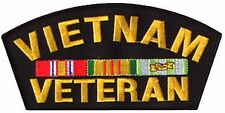 "Rothco Vietnam Veteran Black and Yellow Patch - 6"" x 3"" Miltary Vet Patches"