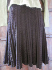 Women's Black Crochet Skirt in SMALL from Anthropologie Brand Moth $118.00 NWT