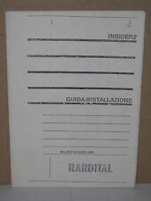 Manuale per Hardital Insider2 RAM 2MB per Commodore Amiga 500