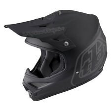 "2016 Troy Lee Designs AIR ""Midnight 2"" Matte Black XXL MX Helmet TLD FREE S&H"