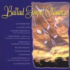 FREE US SH (int'l sh=$0-$3) NEW CD Various Artists: Ballad Gospel Classics