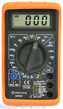 Digital Multitester Multimeter Test medidor de voltios AMP continuidad Tester mtb01