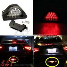 F1 Style Triangle 12 LED Car Trucks Rear Stop Tail Brake Light Universal Sporty
