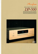 DEPLIANT Prospetto accuphase dp-500 b591