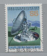 Österreich Austria 1644 Inbetriebnahme der Erdefunkstelle Aflenz   1980 gest.