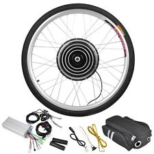 "48V1000W26"" Front Wheel Electric Bicycle Motor Kit E-Bike Cycling Hub Conve"