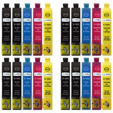 20 Ink Cartridges (Set + Bk) for Epson Workforce WF-2530WF & WF-2540WF