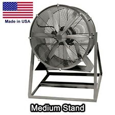"24"" Aluminum Propeller Fan TEFC - 1/4 HP - 5200 CFM - 230/460V - 3 Ph - 2 Blades"