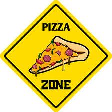 """*Aluminum* Pizza Funny Metal Novelty Sign 12""""x12"""""""