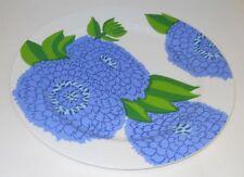 Iittala Marimekko Primavera Finnish Blue Servingplate Design Maija Isola Finland