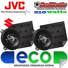 Suzki Vitara 1991-1996 JVC 10 cm 210 Watts 2 Way Car Speakers & Sound Deadening