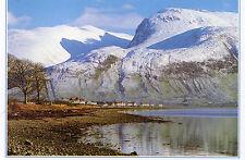 postcard Scotland Ben Nevis Fort William Lochaber unposted Dixon