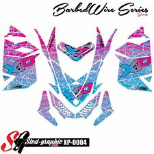 WRAP GRAPHICS DECAL KIT FOR SKI-DOO REV XP MXZ 2008 2009 2010 2012 2013 xp0004