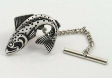 NEW Fish Fishing Trout Tie Pin  10619