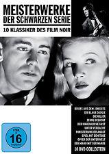10 Film Noir Klassiker MEISTERWERKE DER SCHWARZEN SERIE Unheimliche Gast DVD Box