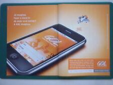 11/10 PUB GOL AIRLINE IPHONE AVION PLAYMOBIL / AZUL / PILATUS PC-7 PORTUGUESE AD
