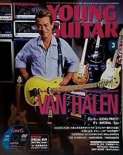 Young Guitar Magazine March 2012 Japan Van Halen Judas Priest Firewind