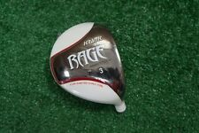 NEW KRANK GOLF RAGE IMPACT TECH 3 WOOD HEAD ONLY WHITE .335 238219