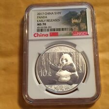 2017-China $10Y-Panda Early Releases MS-70-N.G.C. Graded #4518158-101