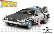Hot Wheels Elite Back to the Future Time Machine Delorean W / Extras 1:18 BCJ97