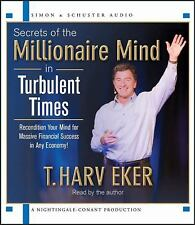 NEW 2 CD Secrets of the Millionaire Mind in Turbulent Times Harv Eker