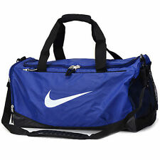 Nike Duffel Bag Max Air Training Bags Sports Purple Black White Gym BA4895 501