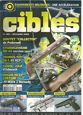 "CIBLES N°465 EQUIPEMENTS MILITAIRES /BOUTET ""COLLECTOR"" /TAURUS 1911 SS-1.45 ACP"