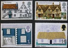British rural architecture stamps, GB, Elizabeth II, SG ref: 815-818, MNH