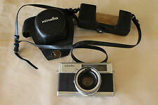 Minolta Hi Matic 7s Rangefinder 35mm Film Camera Rokkor Lens 1966