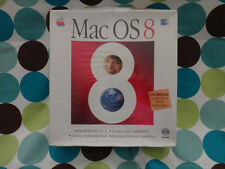 Apple Mac OS 8 Full Version Install CD-ROM Sealed Box 68040 PowerPC Collectible