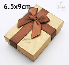 20 x Jewellery Set gift Boxes Brown craft card board brown display box
