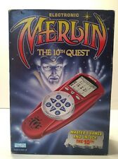 New Factory Sealed Merlin The 10th Quest 1995 Parker Brothers Electronic