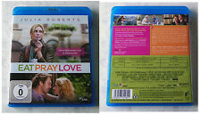 Eat Pray Love - Julia Roberts .. 2011 Sony Blu-ray TOP