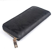 Women Wallets Letter Print Genuine Leather Woman Wallet Clutch Purse Women Bags/