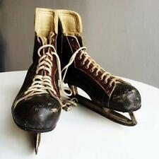 PATTINI DA HOCKEY VINTAGE MADE IN CANADA
