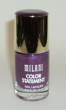 MILANI Color Statement Nail Lacquer Nail Polish Nail Enamel ULTRA VIOLET 13