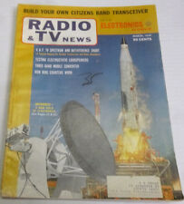 Radio & Tv News Magazine Testing Electrostatic Loudspeakers March 1959 021814R