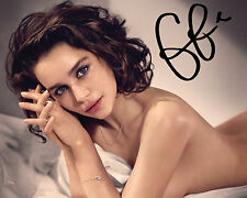 EMILIA CLARKE #1 10X8 PRE PRINTED (SIGNED) LAB QUALITY PHOTO - FREE DELIVERY