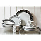 16 Piece Soho Porcelain Dining Serving Dinner Service Set Plates Bowls Mugs Cups
